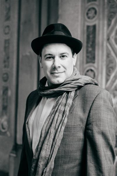 Joe Cangelosi Black and White Fresco