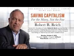 Reich Saving Capitalism 20aug16