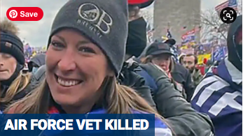 UPDATE:  Woman Killed at US Capitol Was 14 Year Air Force Vet Ashli Babbitt