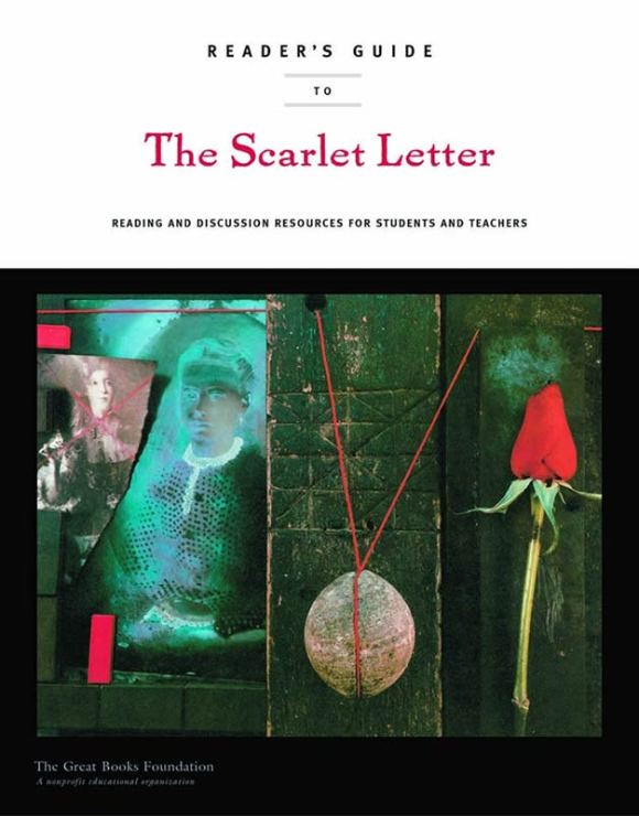 Reader's Guide to Scarlet Letter book cover