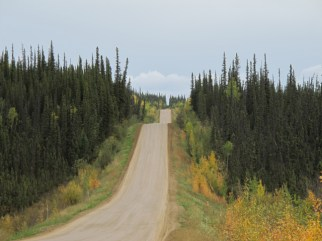 The Rollercoaster on the Dalton Highway