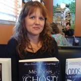 Annie Sturdivant with three of my books