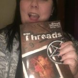 My sister Rebecca Jones and Threads.