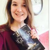 Lauren Boer with her copy of Memories of a Ghost.