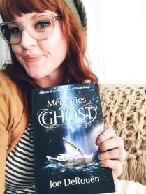 Melodie Maynard about to read Memories of a Ghost
