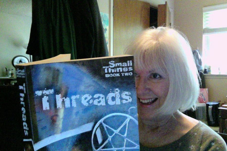 Sally Kuehne reading Threads.