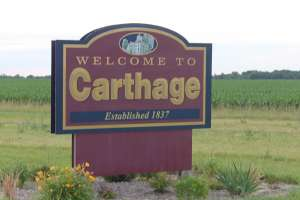 Small Things takes place almost entirely in Carthage, Illinois, where I grew up.