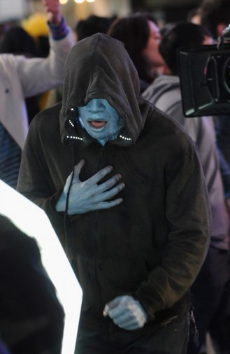 Amazing Spiderman 2 On Location