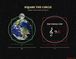 Square the Circle - Earth Moon and Music Theory