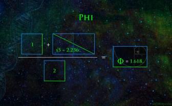 Phi Fibonacci golden rectangle golden mean divine ratio