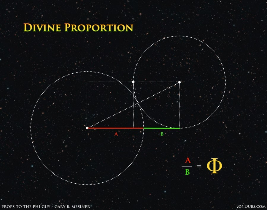 Divine Proportion Phi Guy