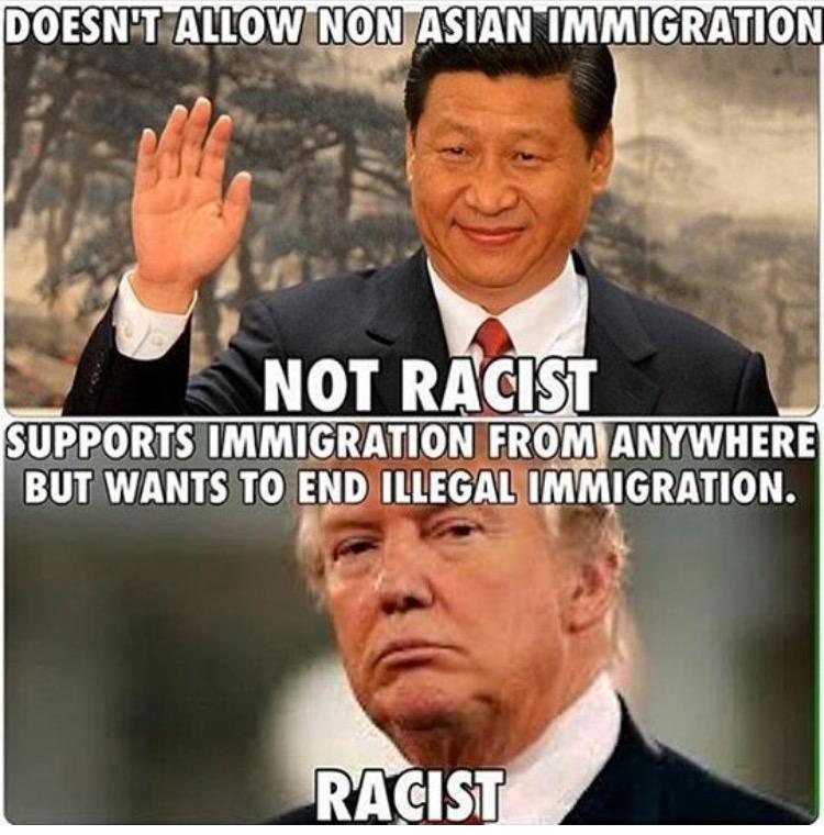 trump isn't racist