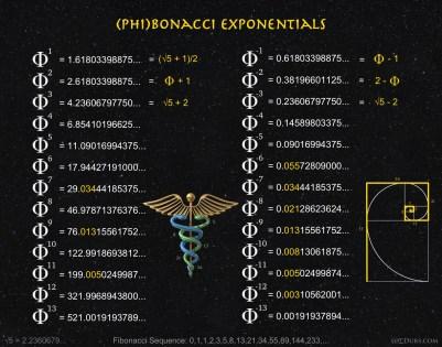 Phi Phibonacci exponentials 2
