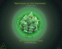 64 Precession of Equinox 64 Grid