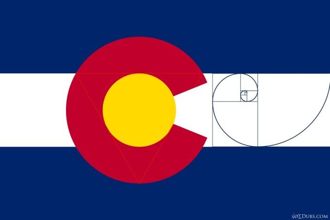 The Colorado State Flag