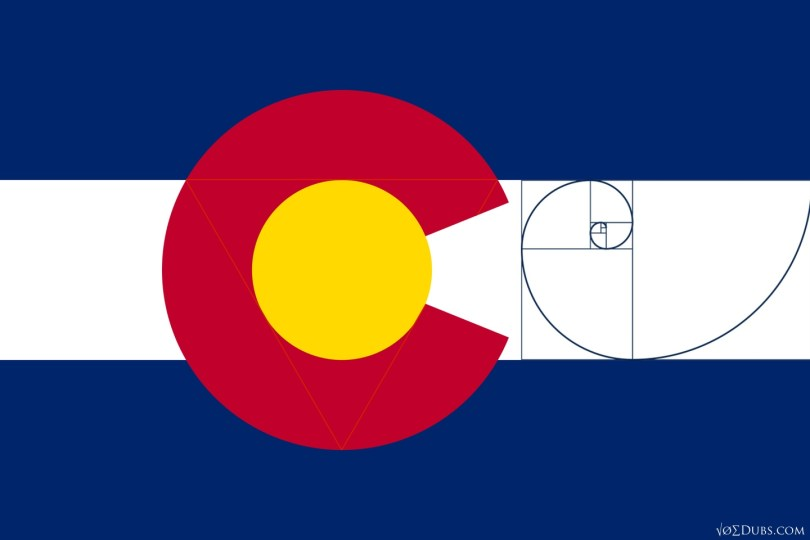 The Colorado State Flag