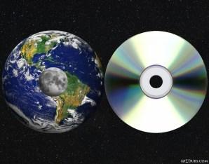 Earth Moon CD Comparision