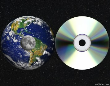 Earth Moon CD Comparision