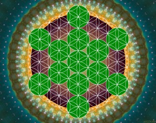 Flower of Life Art