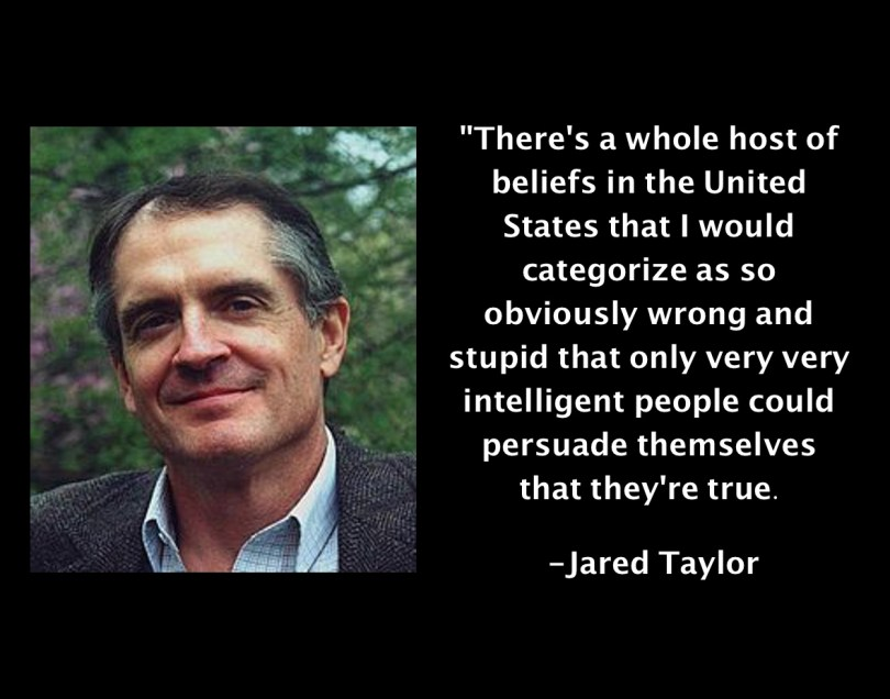 Jared Taylor Intelligent People