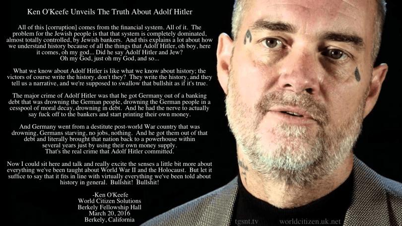 Ken O'Keefe Hitler
