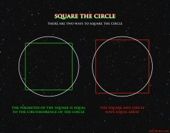 Square the Circle - Two Methods