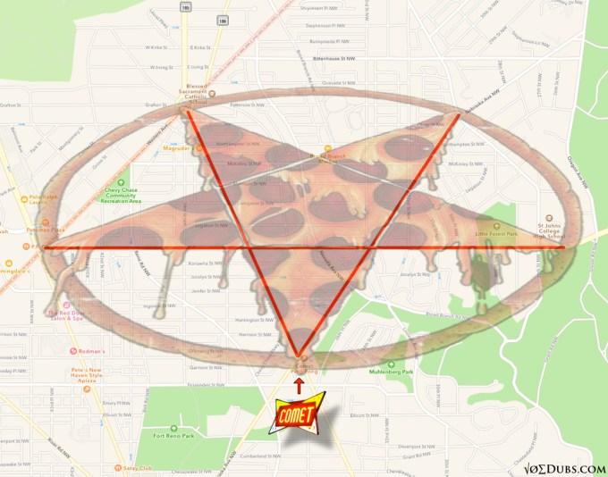 pizza pentagram joe dubs