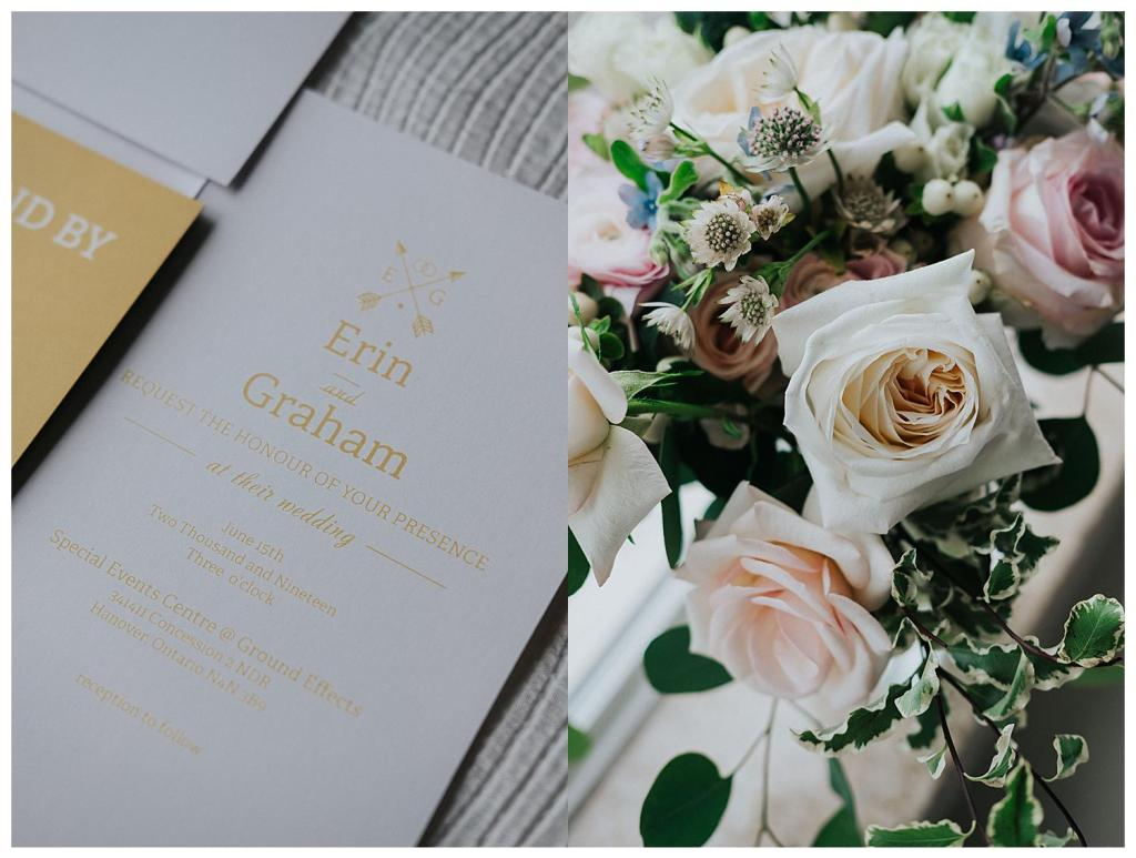 Wedding Invite Inspiration | Simple clean invites | Wedding floral ideas