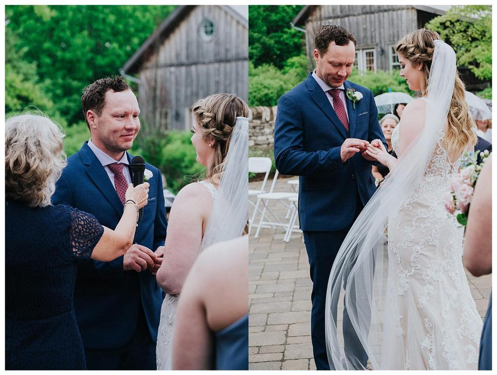Exchanging of the rings | Hanover Wedding