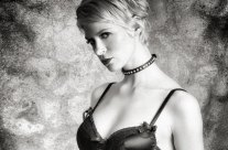 Shooting Black & White Glamour Portraits