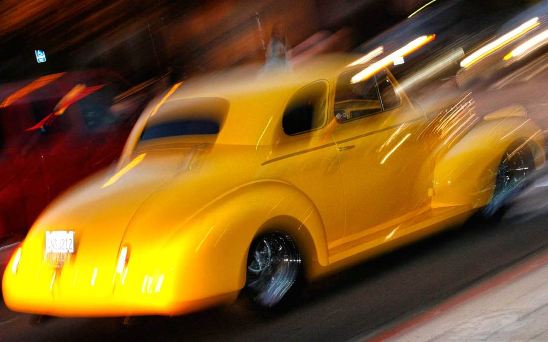 Photographing Cruise Night: Low Light & Fast lenses
