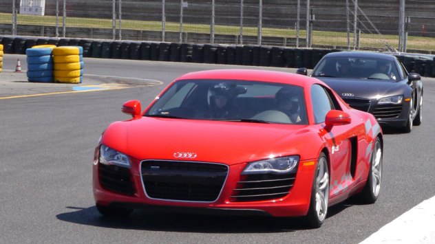 Audi R8 at Sonoma