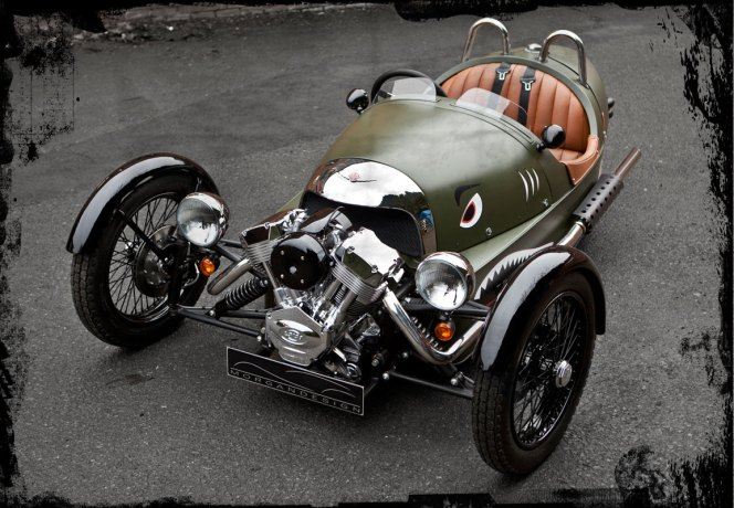 Joe Farace cars Morgan