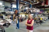 Mary at the Kirkham Factory