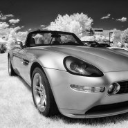 Infrared Car Photography? Why Not.