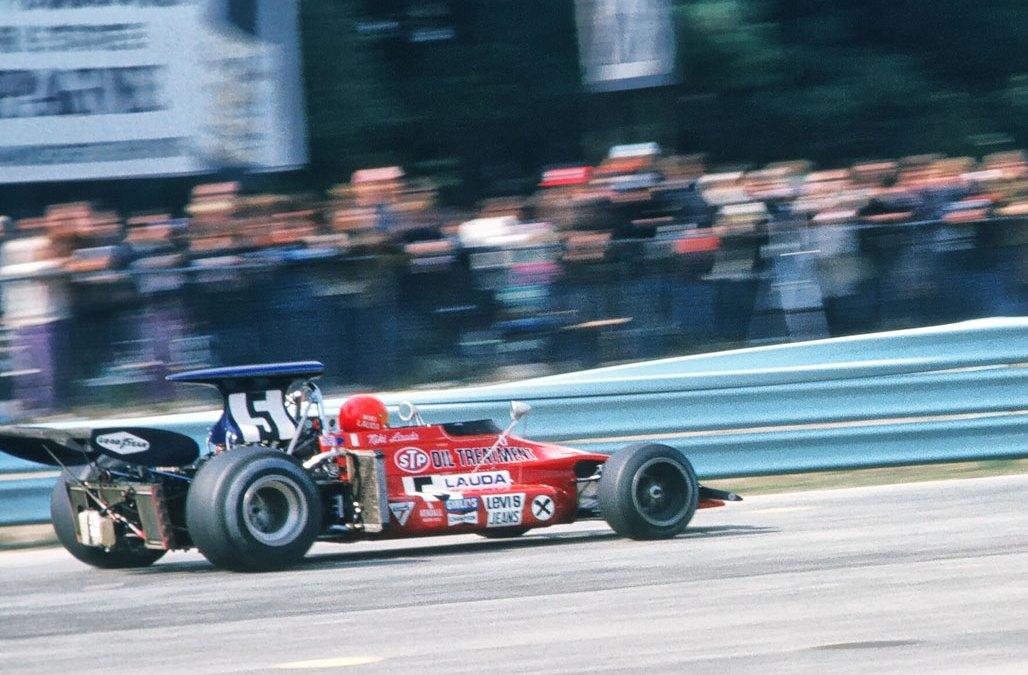 Photographing Niki Lauda at Watkins Glen – 1972