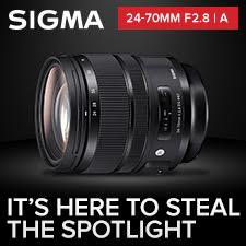 Sigma Ad Promo 24-70mm f2.8 | A
