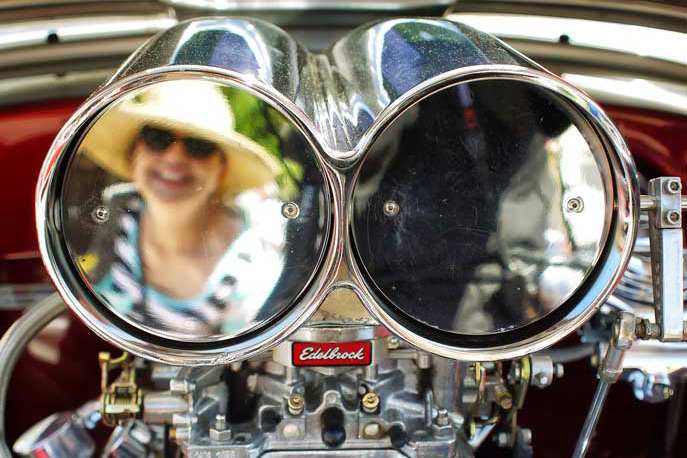 Shooting Reflections at a Car Show