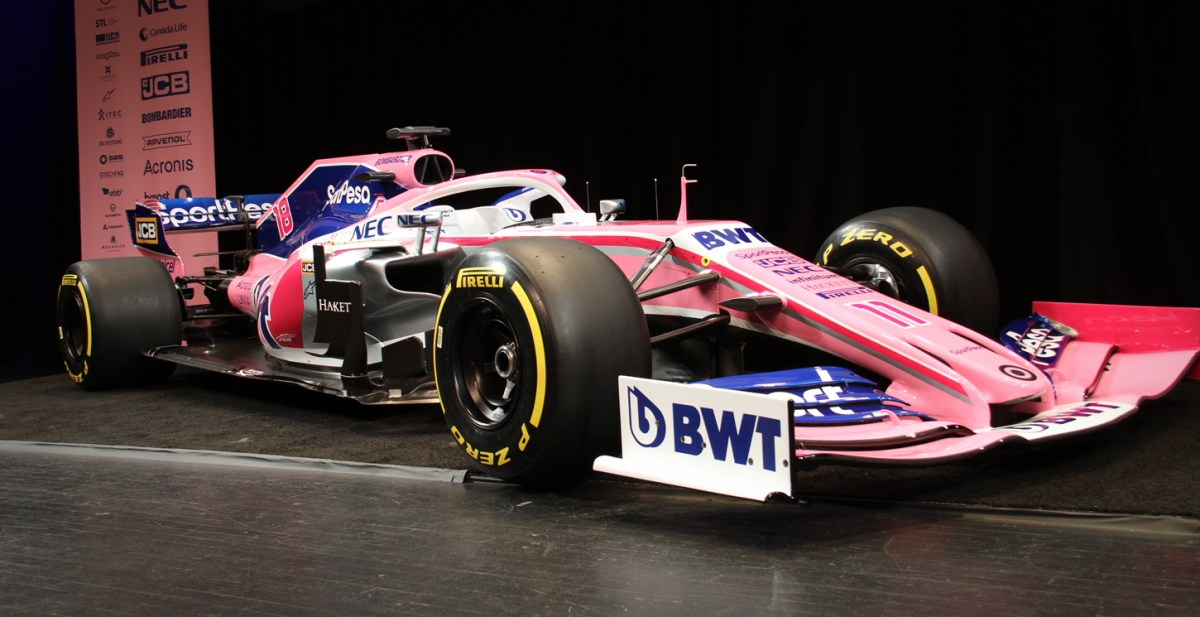 First Unveiling of a Formula One Car in North America
