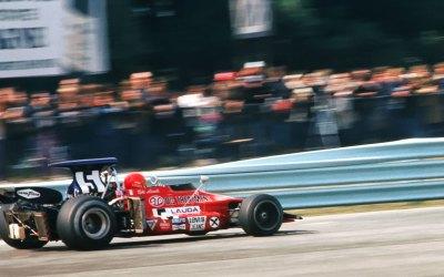 Photographing Niki Lauda at Watkins Glen in 1972