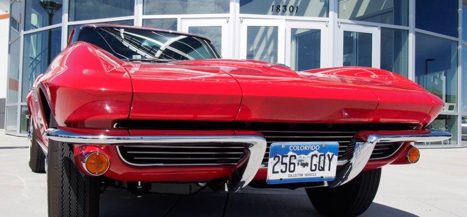 The Corvette Stingray Split Window Coupe