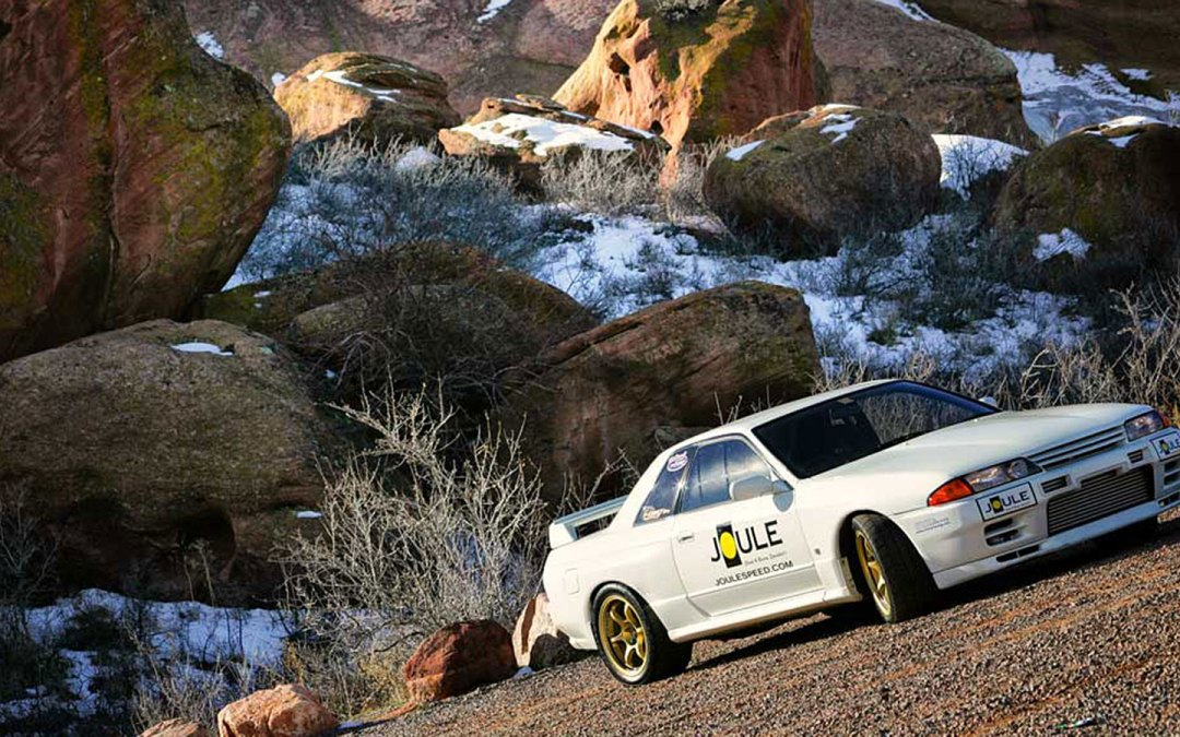 Nissan Skyline GTR at Red Rocks