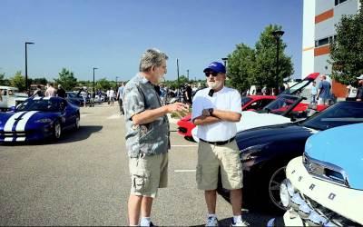 Joe & Cliff Go to Cars & Coffee: Video