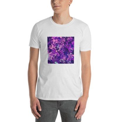 Purple Daydream Short-Sleeve Unisex T-Shirt