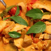 Thai Red Curry แกงเผ็ด