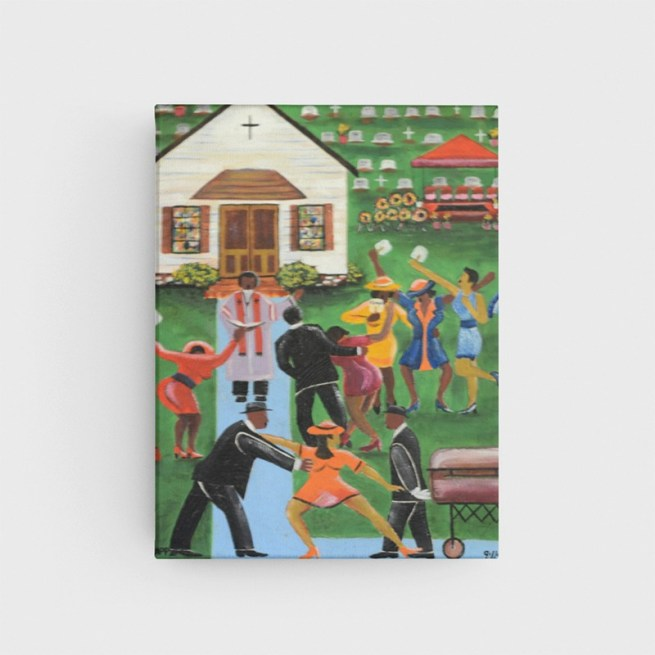 Black Folks Family Reunion by Johnny Mapp - Stretched Canvas