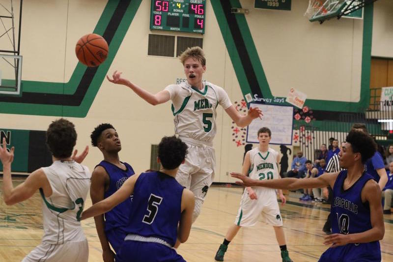 Mendon boys get it done on both ends for basketball win over Cassopolis