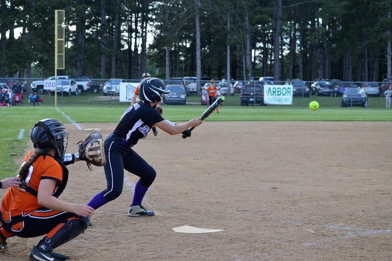 Lady Wildcats roll in Division 2 pre-district softball shutout against Sturgis