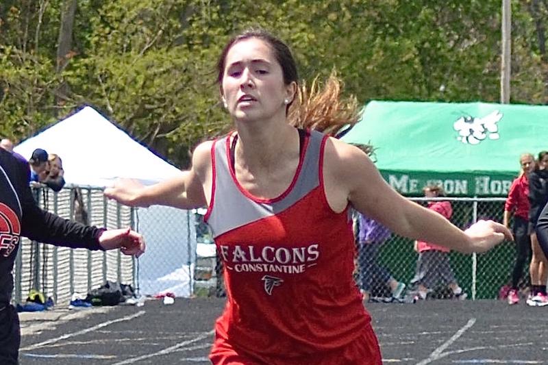 Safety Glasses USA Girls Track Athlete of the Week: Constantine's Cassie McNamara