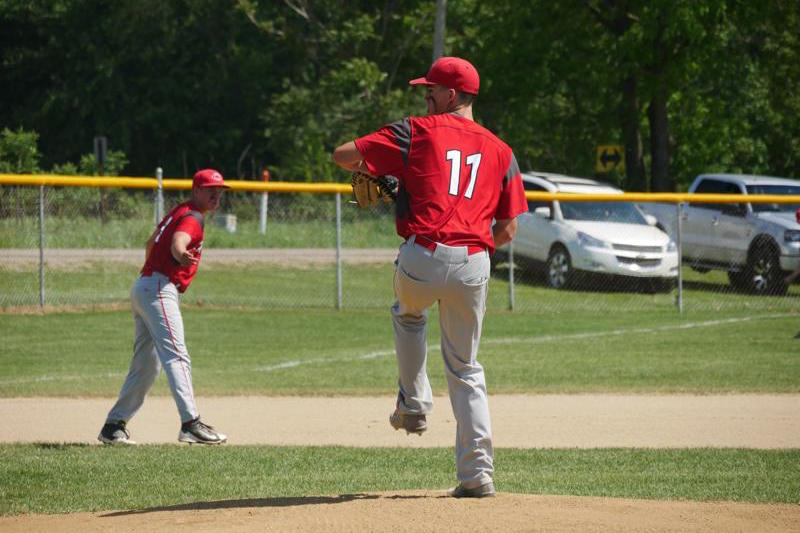 Colon baseball team pulls away late in Division 4 district championship win against Mendon